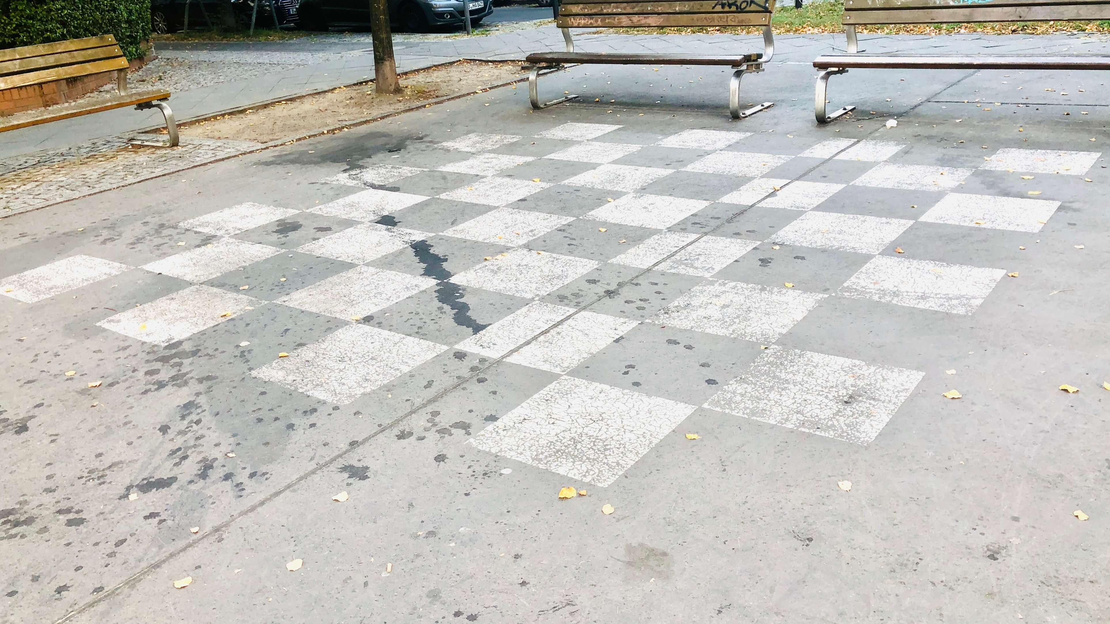 Spielplatz bzw. Spielstraße in der Mahlerstraße