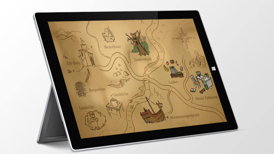 Das Lurs-Abenteuer – Kinder-App