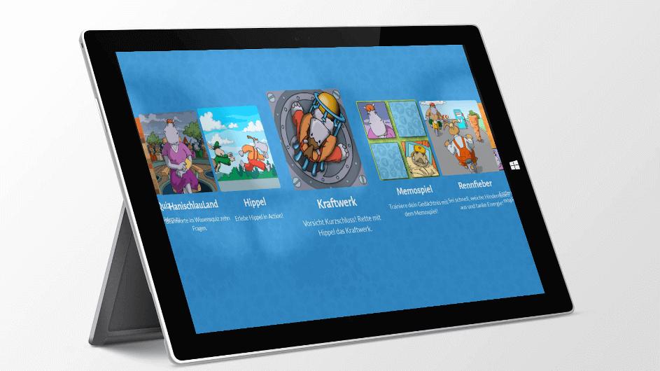 HanisauLand – Politik für dich – Kinder-App