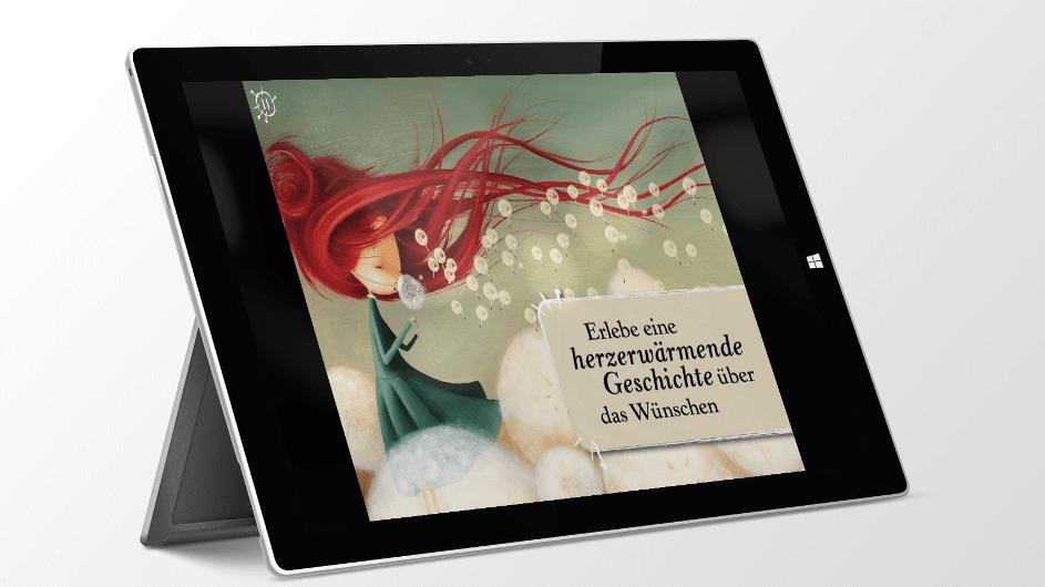 Im Garten der Pusteblumen – Kinder-App