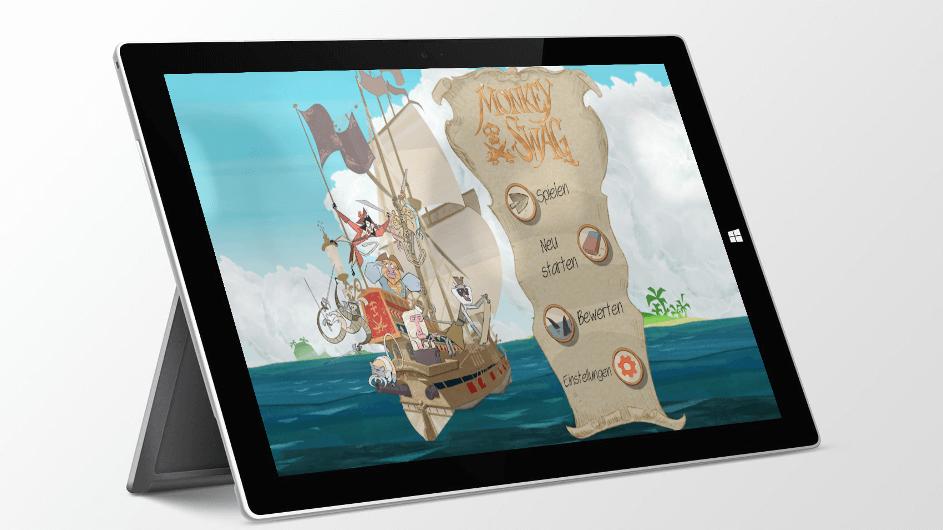 Monkey Swag – Deine Geometrie-Schatzsuche! – Kinder-App