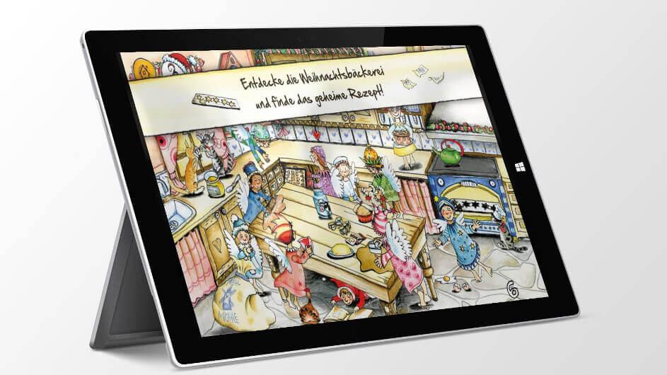 Rolf Zuckowski Weihnachtslieder Texte.Rolf Zuckowski In Der Weihnachtsbackerei Kinder App