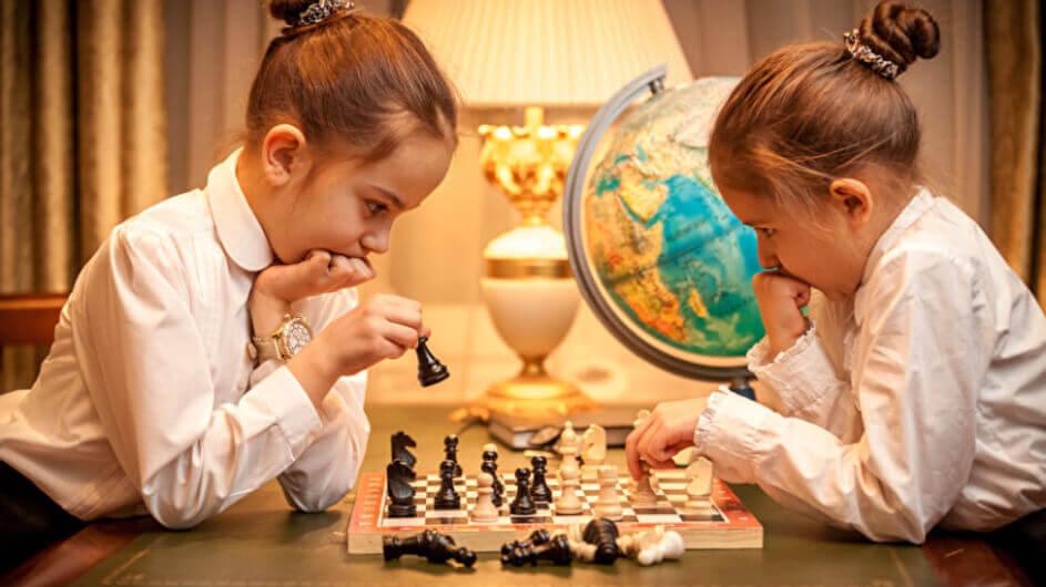 Schach auf dem Waldspielplatz Schildhorn