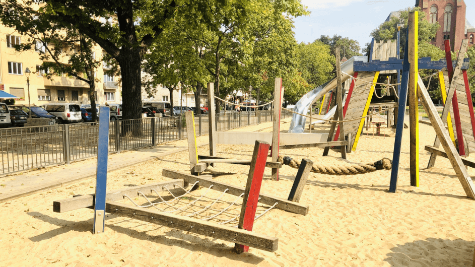 Berlin Kinderspielplatz