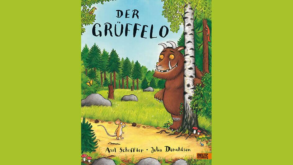 Buchcover des Kinderbuchs Der grüffelo von Julia Donaldson
