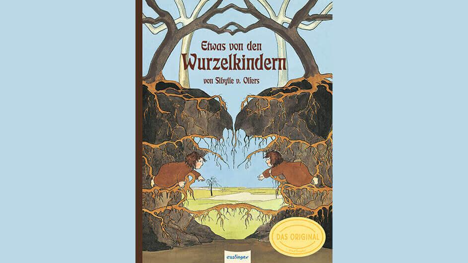 Buchcover des Kinderbuches Etwas von den Wurzelkindern