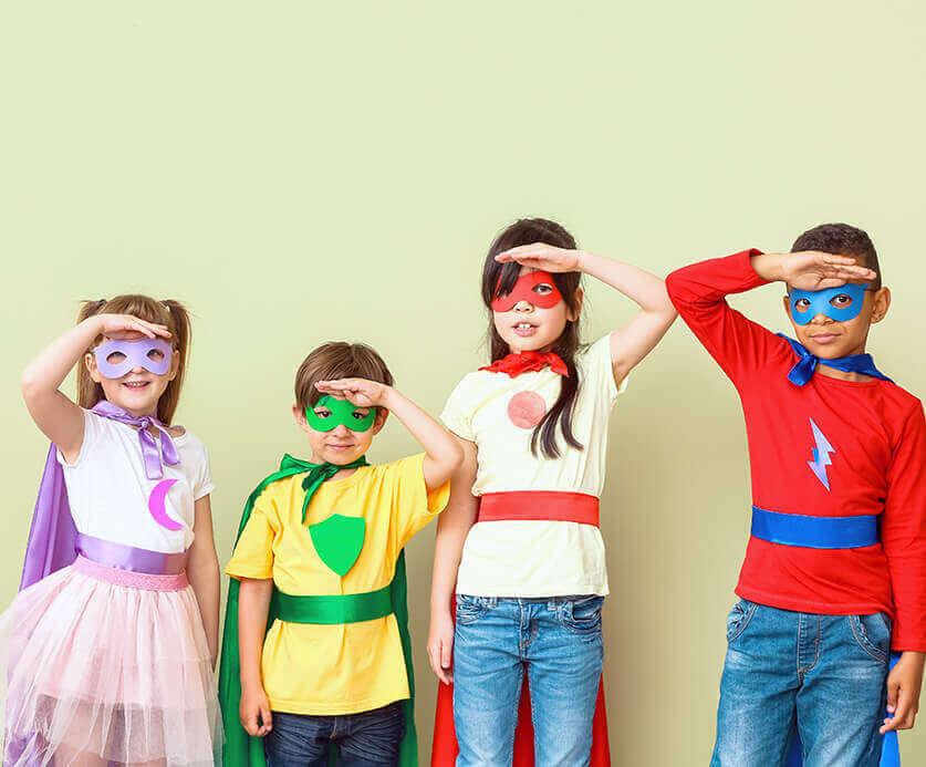 Kinderleichte Kostümideen für den Kinderkarneval zum Selbermachen und Kaufen, die ihr noch nicht kennt