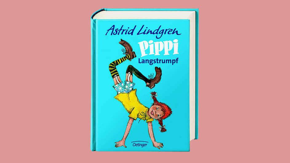 Buchcover des Kinderbuchs Pippi Langstrumpf