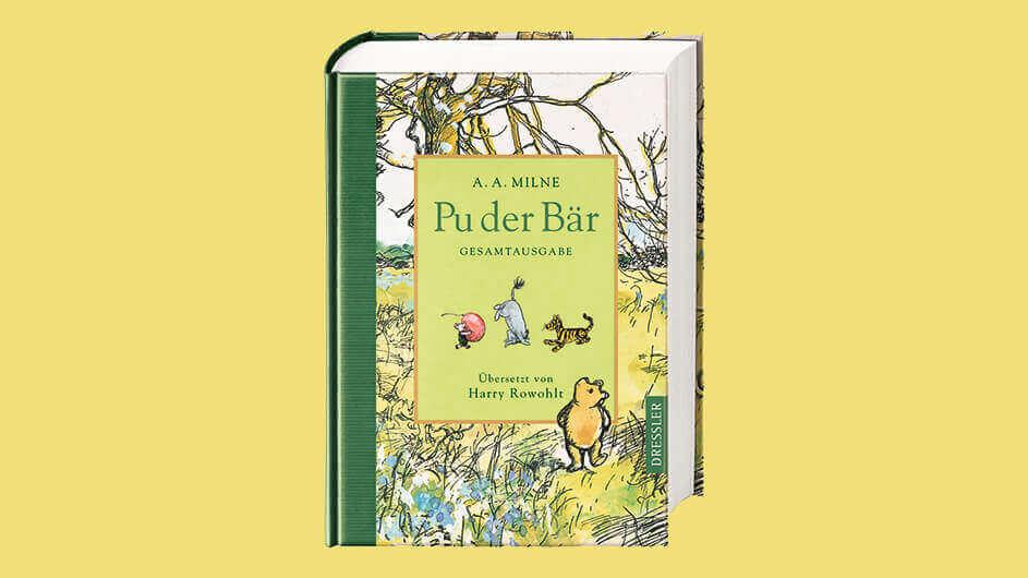 Buchcover des Kinderbuchs Pu der Bär