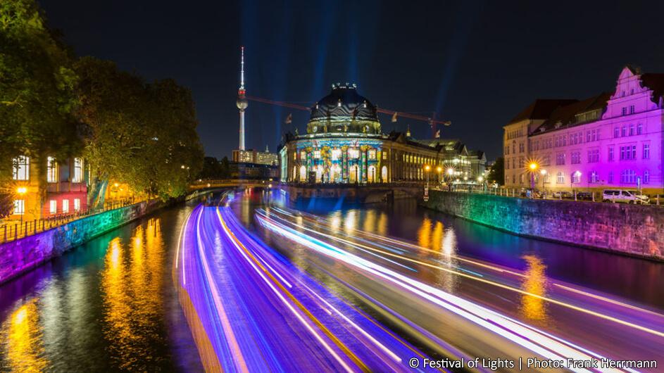 Festival of Lights Berlin - Bode-Museum